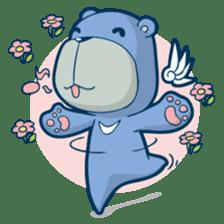 Blue Bear sticker #900159