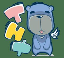 Blue Bear sticker #900163