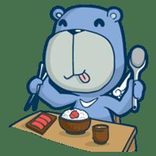 Blue Bear sticker #900164