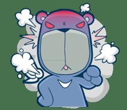 Blue Bear sticker #900165