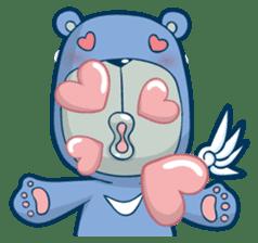 Blue Bear sticker #900166