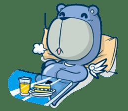 Blue Bear sticker #900168