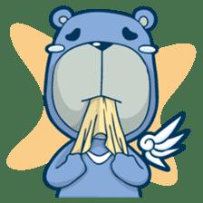 Blue Bear sticker #900169