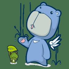Blue Bear sticker #900170