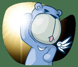 Blue Bear sticker #900171