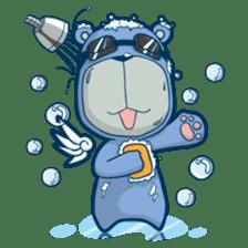 Blue Bear sticker #900172