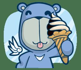 Blue Bear sticker #900174