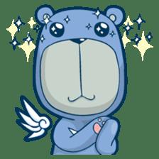 Blue Bear sticker #900175