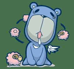 Blue Bear sticker #900176