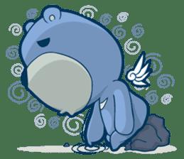 Blue Bear sticker #900178
