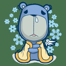 Blue Bear sticker #900181
