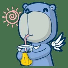 Blue Bear sticker #900183