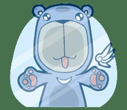 Blue Bear sticker #900185
