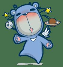 Blue Bear sticker #900186