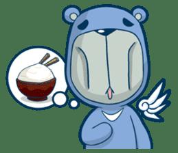 Blue Bear sticker #900187