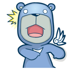 Blue Bear sticker #900188