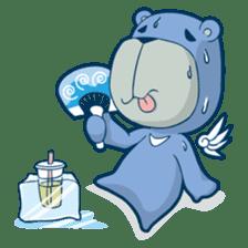 Blue Bear sticker #900191
