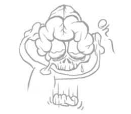 Brain Monsters sticker #900222