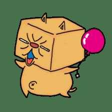 Exotic Cube Cat sticker #900679