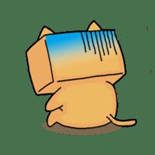 Exotic Cube Cat sticker #900684