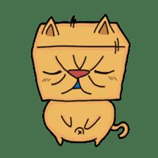 Exotic Cube Cat sticker #900691