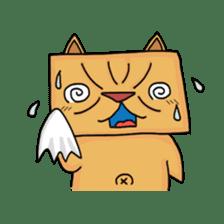 Exotic Cube Cat sticker #900700
