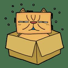 Exotic Cube Cat sticker #900701
