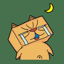 Exotic Cube Cat sticker #900703