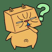 Exotic Cube Cat sticker #900708