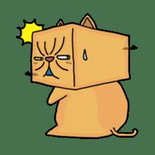 Exotic Cube Cat sticker #900717