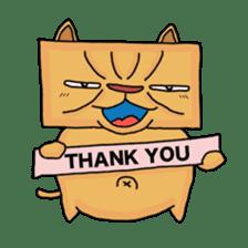 Exotic Cube Cat sticker #900718