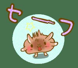 Rabbits Ami and foo sticker #900728