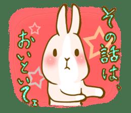 Rabbits Ami and foo sticker #900729