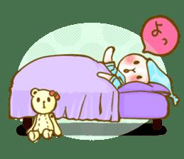 Rabbits Ami and foo sticker #900730
