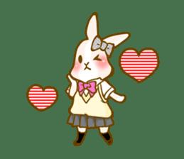 Rabbits Ami and foo sticker #900735