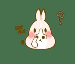Rabbits Ami and foo sticker #900737