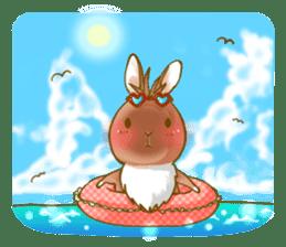 Rabbits Ami and foo sticker #900754