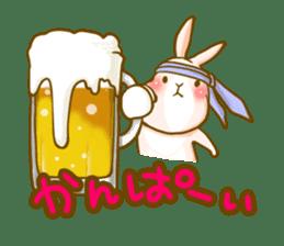 Rabbits Ami and foo sticker #900758
