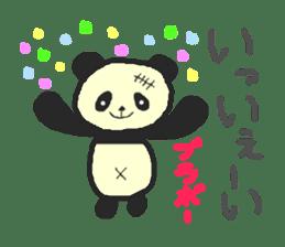 Panda Sasaki sticker #901041