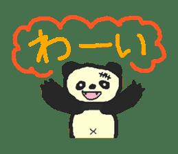 Panda Sasaki sticker #901042