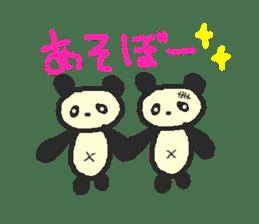 Panda Sasaki sticker #901044