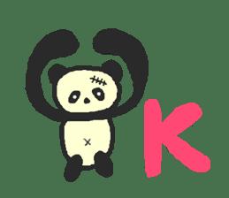 Panda Sasaki sticker #901045