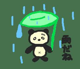 Panda Sasaki sticker #901046