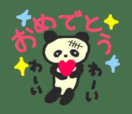 Panda Sasaki sticker #901053