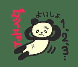 Panda Sasaki sticker #901057