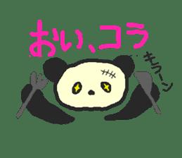 Panda Sasaki sticker #901065