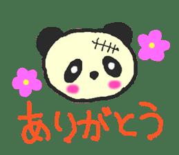 Panda Sasaki sticker #901068