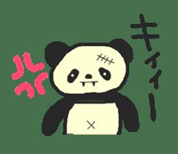 Panda Sasaki sticker #901072
