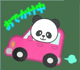 Panda Panda Panda sticker #901345