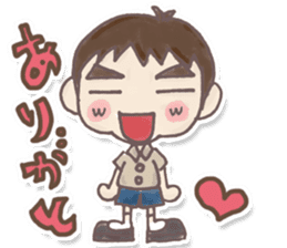 Junior high school students Musashi sticker #901363